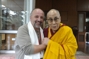 Thierry-Lâ Beaudeau enseignant reconnu par Sa Sainteté le Dalaï Lama pour sa Sagesse, sa Connaissance et sa Bienveillance